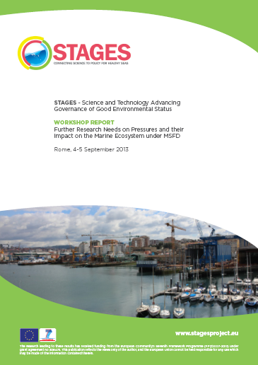 STAGES pressures workshop report