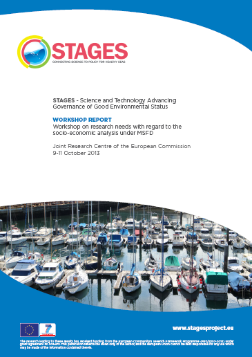 STAGES socioeconomic workshop report